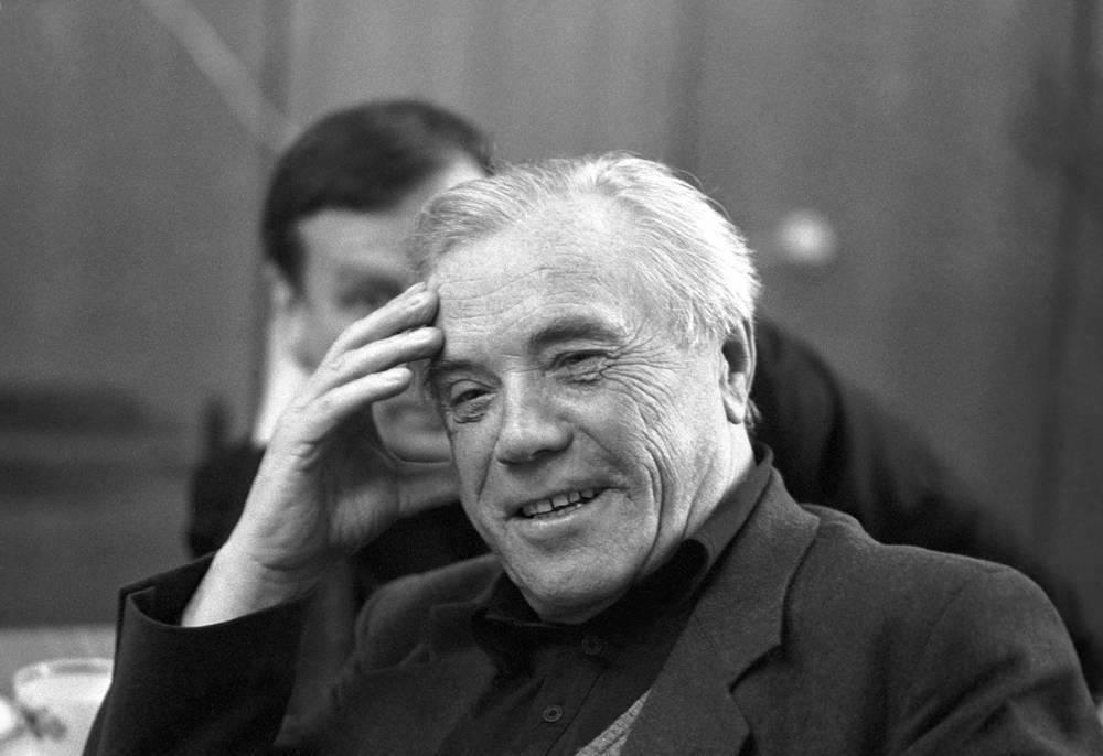 Писатель Виктор Астафьев, 1991 год