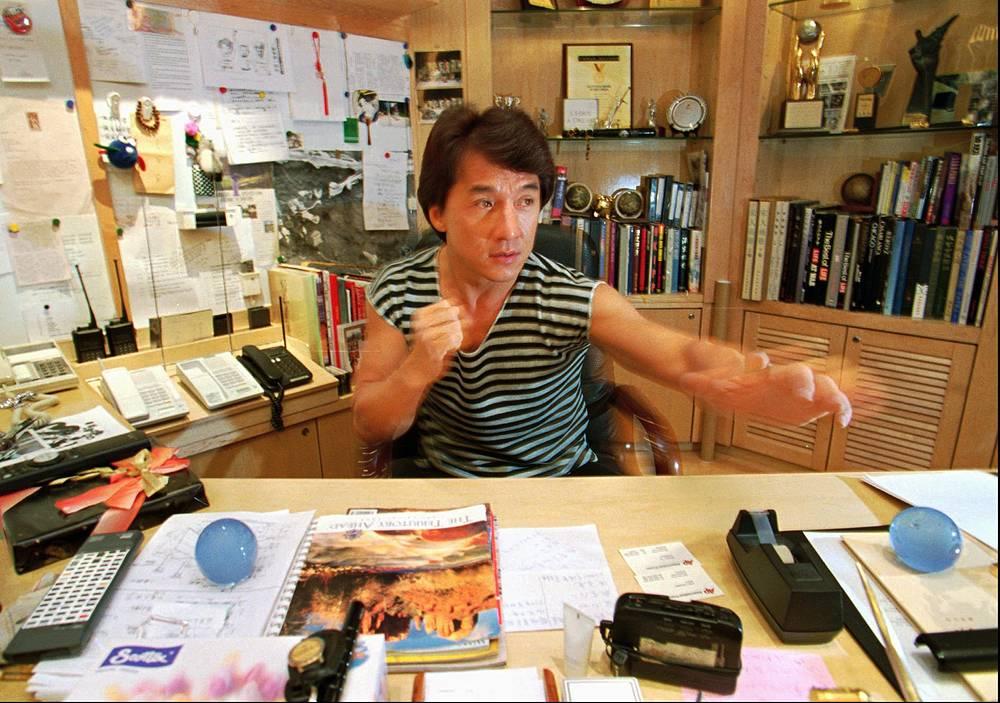 Офис актера, певца и режиссера Джеки Чана в Гонконге