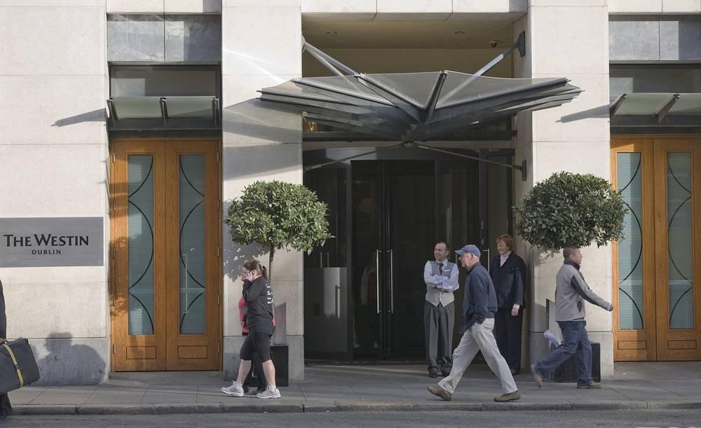 Отель Westin в Дублине