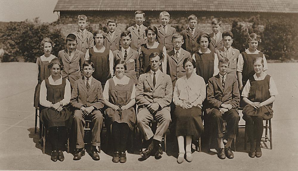 Ученики школы Sidcot, Великобритания, 1926 год