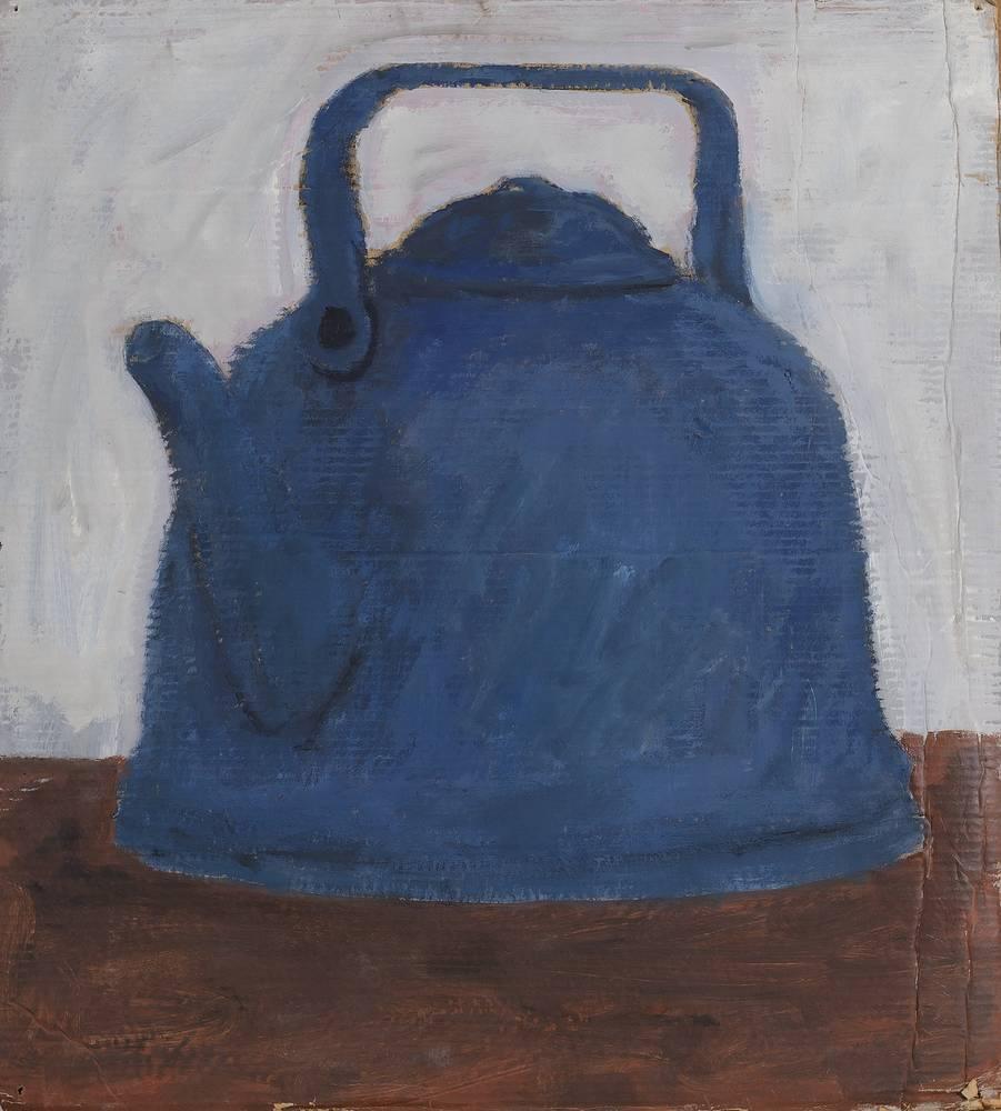 Чайник. 1993. Гофрокартон, глицерофталик, 76,5 х 69,5 см