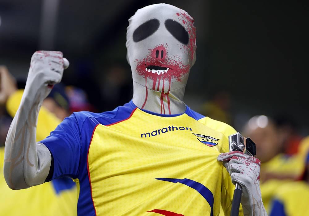 Болельщик команды Эквадора
