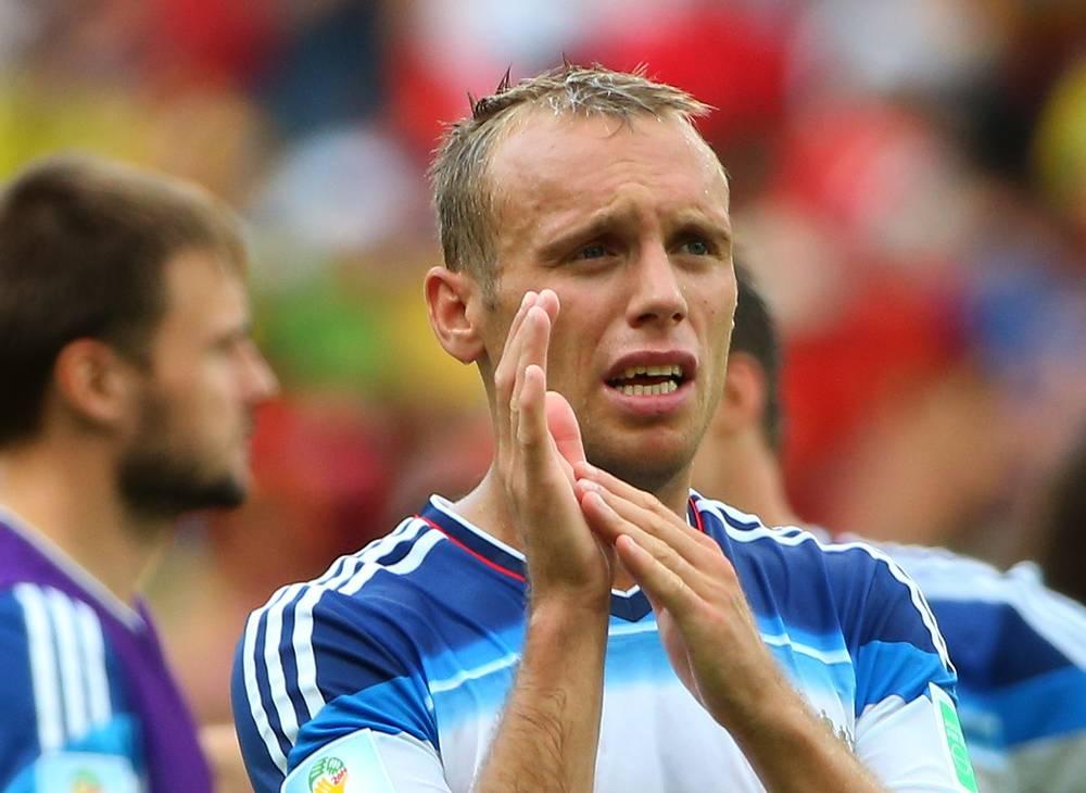 Денис Глушаков благодарит болельщиков за поддержку