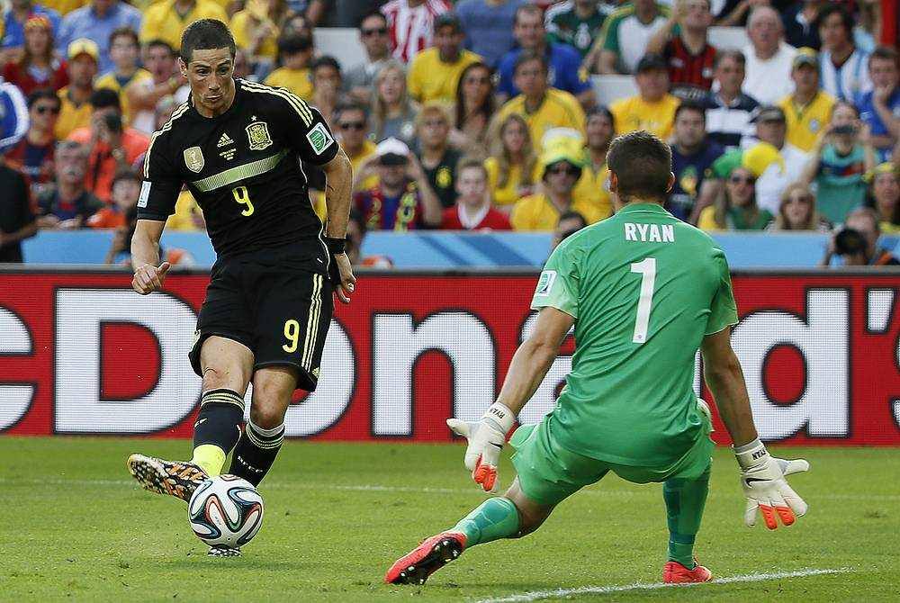 Второй гол австралийцам забил Торрес