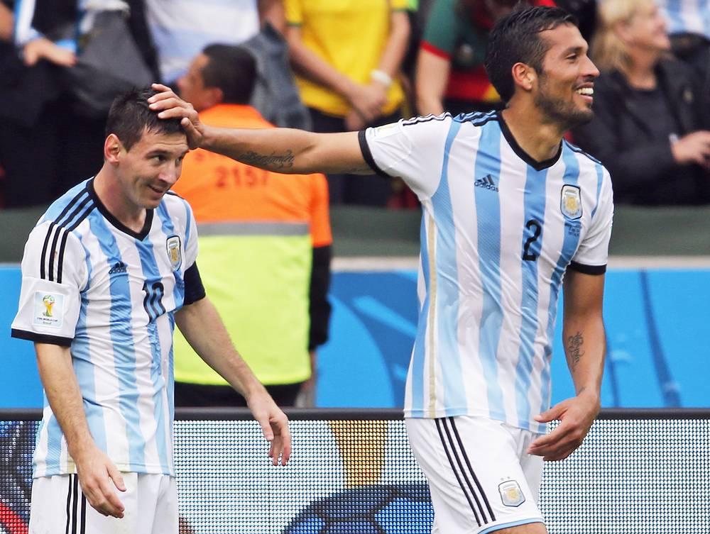 Лидер сборной Аргентины догнал в списке лучших снайперов турнира бразильца Неймара