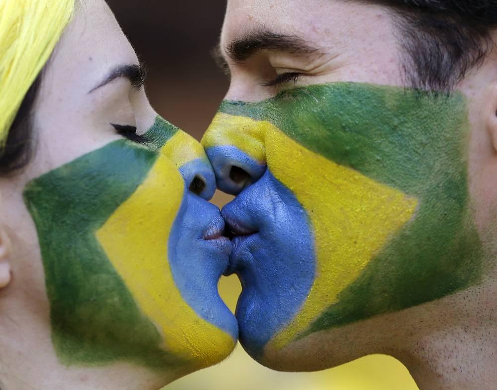 Бразильцы и любовь победили