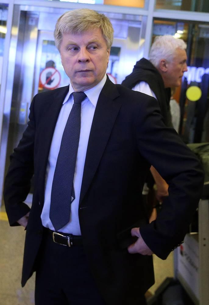 Президент Российского футбольного союза Николай Толстых