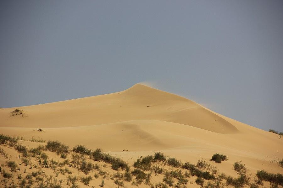 Сарыкумский бархан — удивительное явление природы, возникшее на территории современного Дагестана много тысяч лет назад.