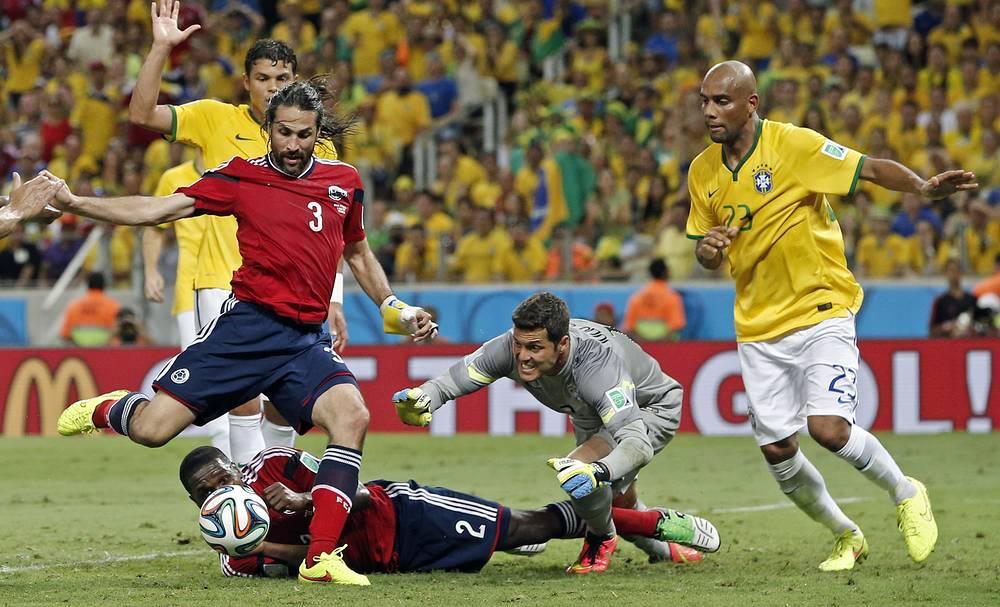 Незасчитанный гол капитана сборной Колумбии Марио Йепеса
