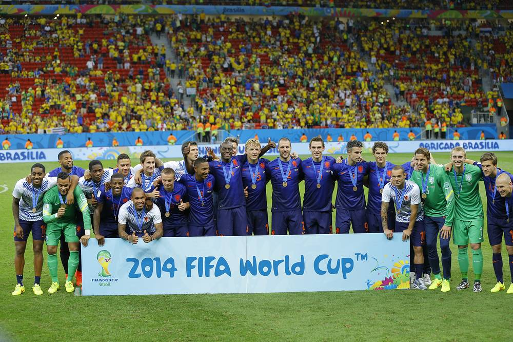 Голландцы впервые в истории завоевали бронзовые медали чемпионата мира