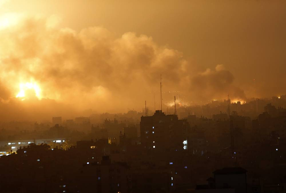 """Хания повторил основные условия ХАМАС для достижения перемирия: """"Агрессия должна быть прекращена и даны международные гарантии, что она больше не повторится; полностью снята блокада и открыты все пограничные переходы, освобождены арестованные активисты"""""""