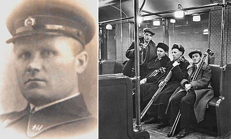 Владимир Днепровский руководил подземкой несколько месяцев (сентябрь 1937 года - январь 1938 года)