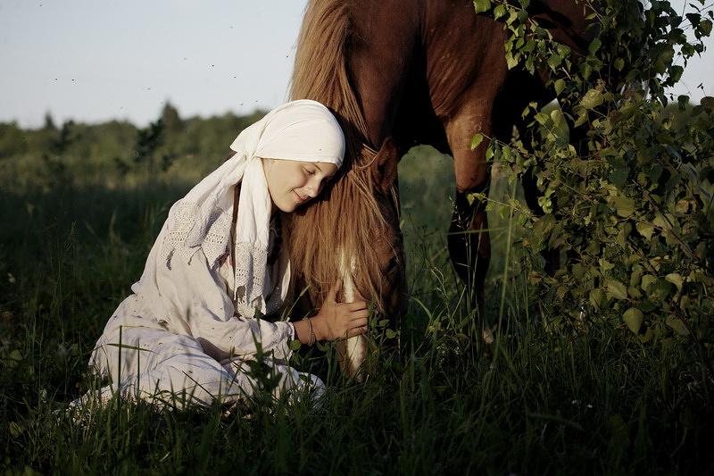 """На лошадиной ферме (""""Музей рабочей лошади"""" под Угличем)"""