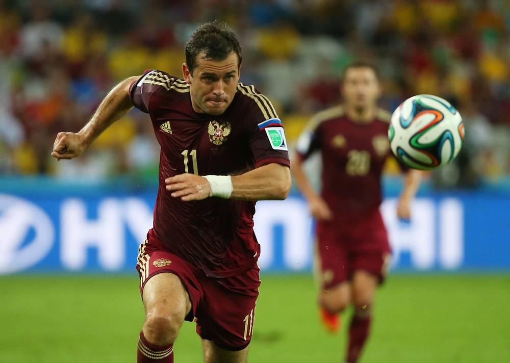 19. Александр Кержаков, футбол