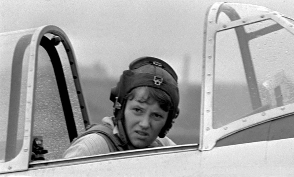 Светлана начинала свою карьеру в сборной страны по самолетному спорту, 1972 год