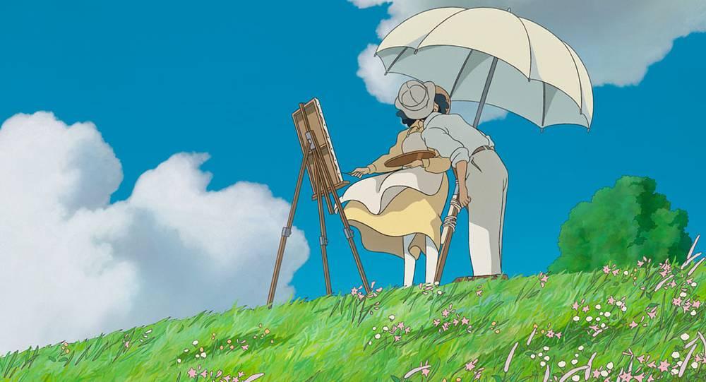 """Кадр из фильма-анимэ """"Ветер крепчает"""" (2013 год)"""
