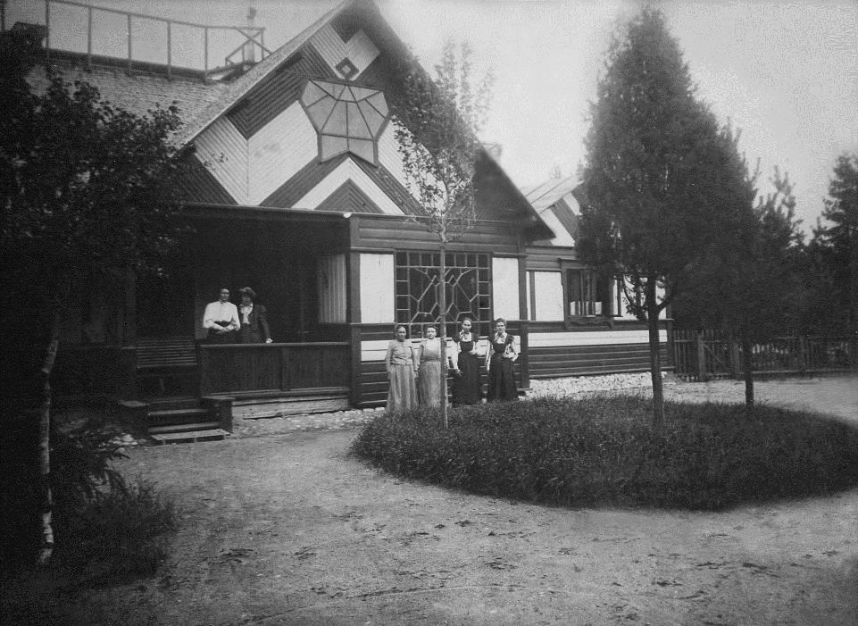 """Одноэтажный дом в усадьбе """"Пенаты"""". 1903 год"""