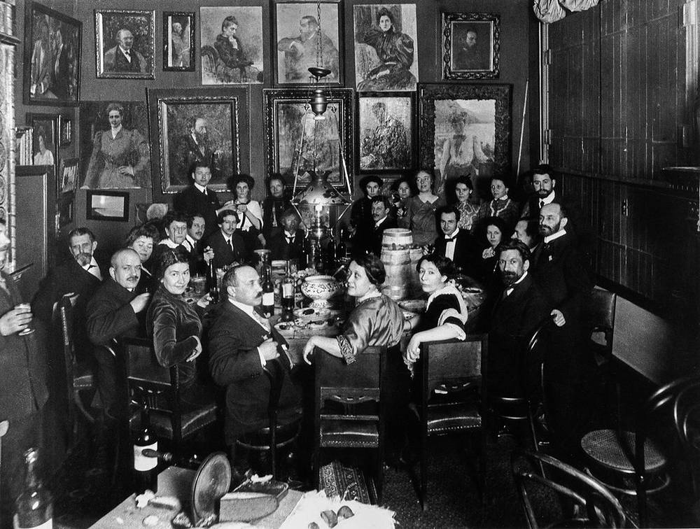 """После чтения пьесы Л.Андреева """"Не убий"""" .1913  год"""