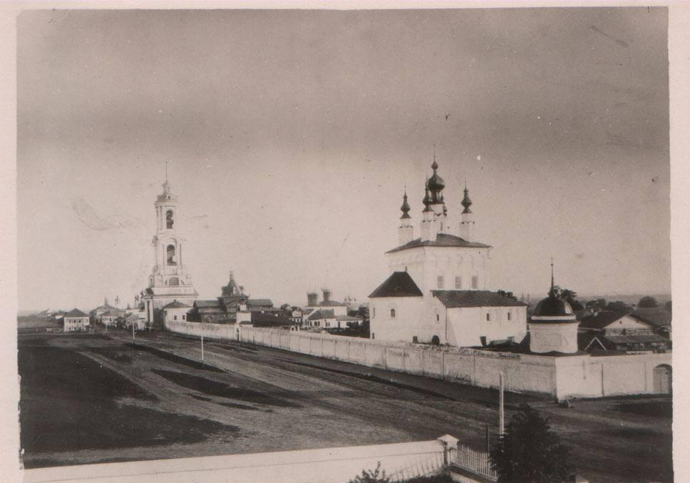Ризоположенский монастырь и Троицкий собор (разрушен)