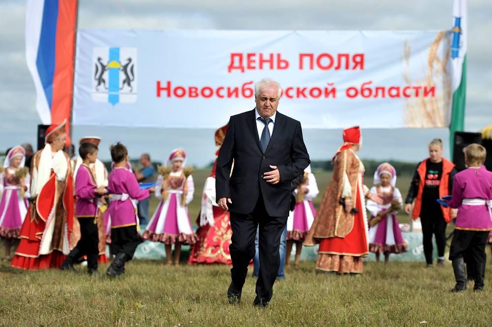 Георгий Иващенко, врио министра сельского хозяйства Новосибирской области