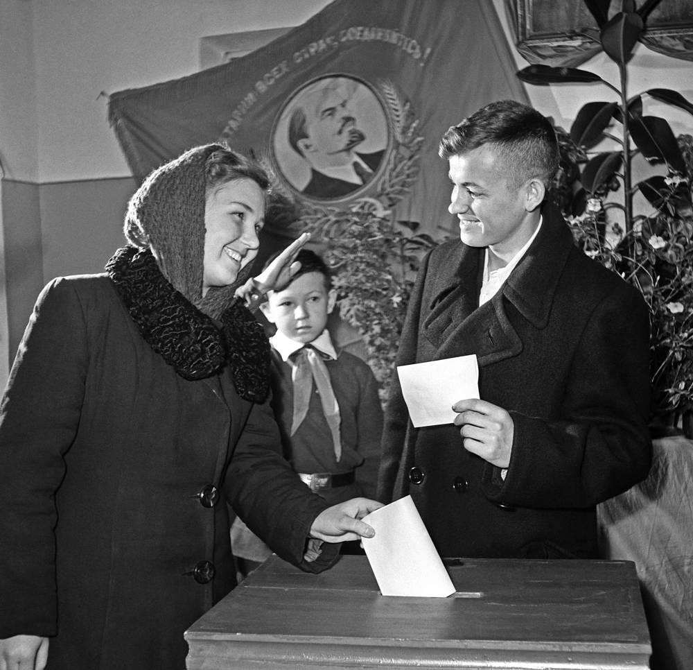 Выборы в Верховный Совет СССР, 1958 год