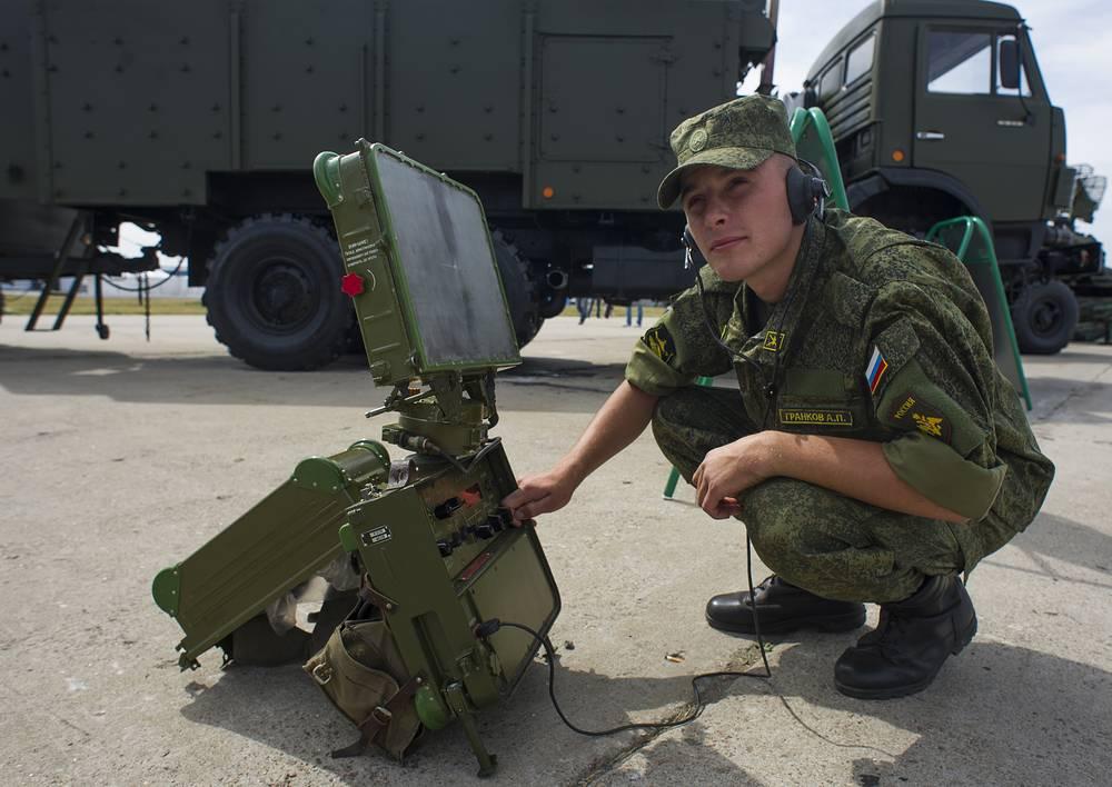 Радиолокационная станция ближней разведки СБР-3