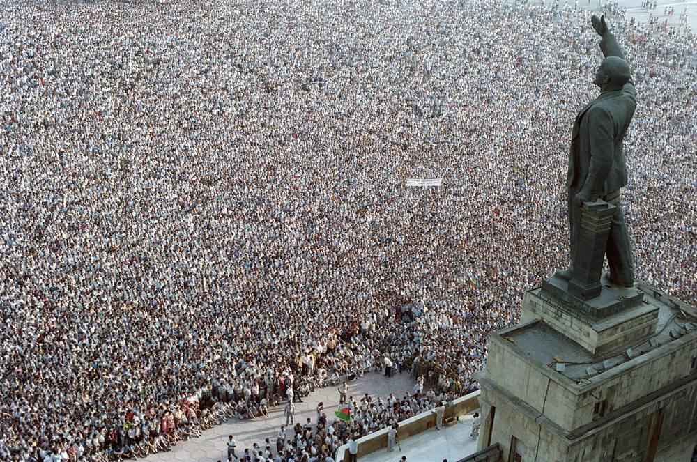 Митинг в Баку, 1989 год