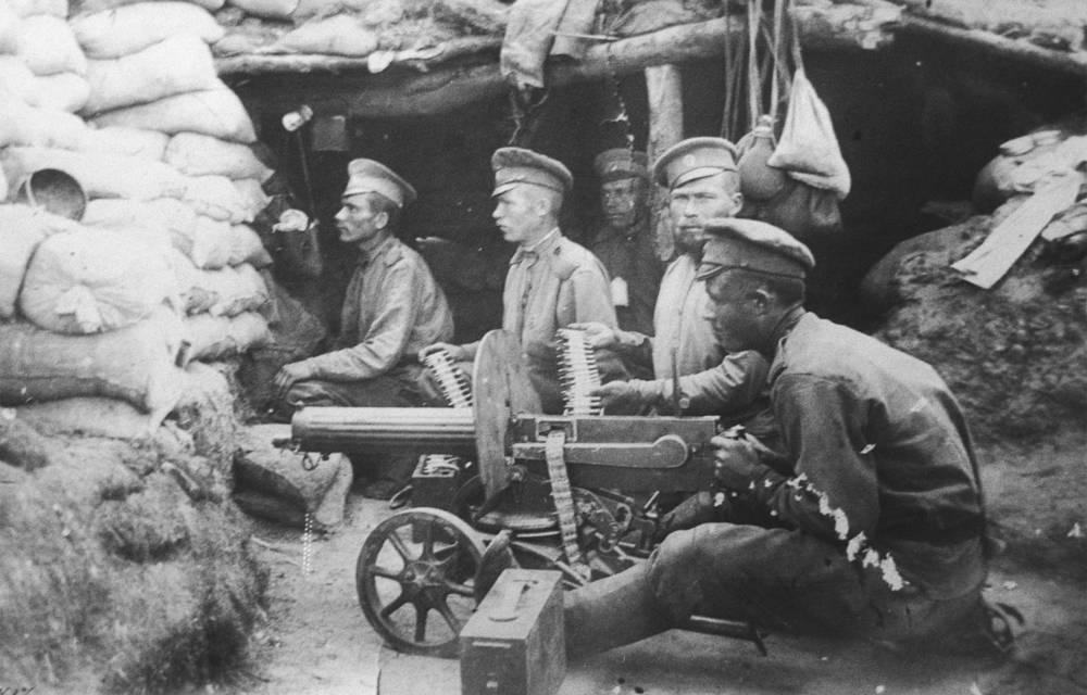 Первая мировая война. Западный фронт, 1914 год