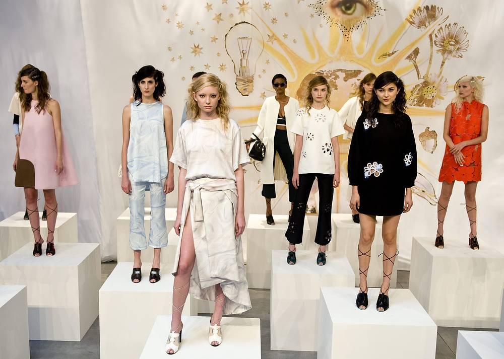 Коллекция одежды американского дизайнера Синтии Роули (Cynthia Rowley)