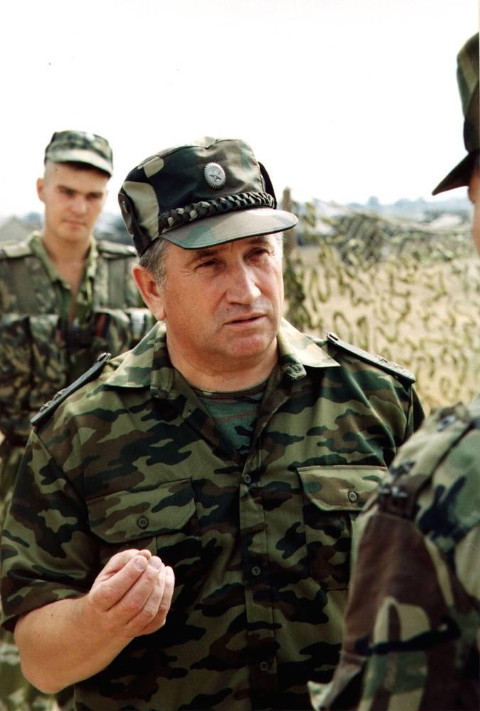 Генерал-лейтенант Валерий Баранов, 2000 год