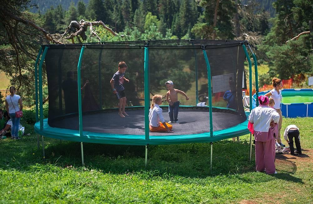 Для маленьких гостей «Архыза» была разработана обширная программа отдыха.