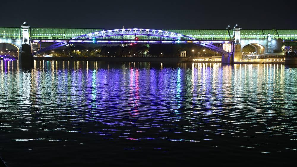 Андреевский мост, 2014 год