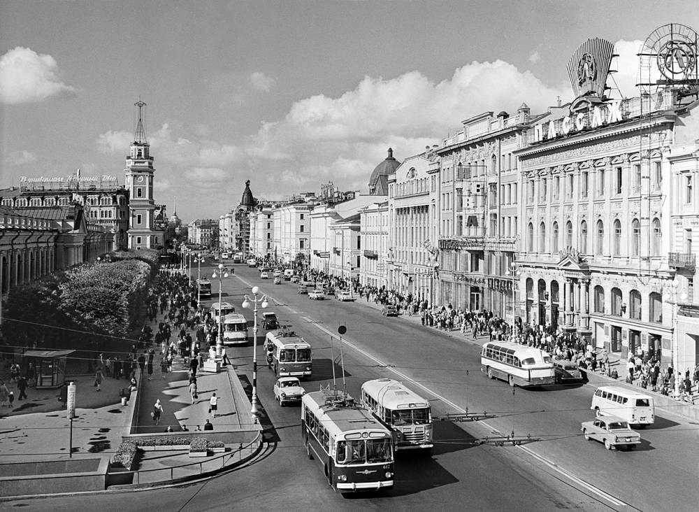 Невский проспект,1967 год