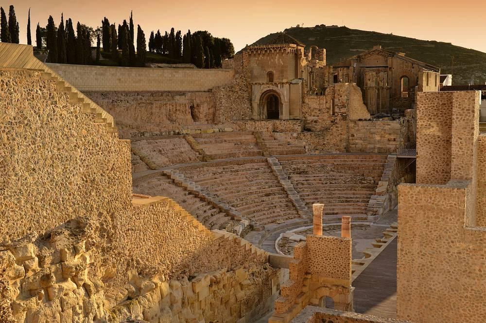 Римский театр Картахены