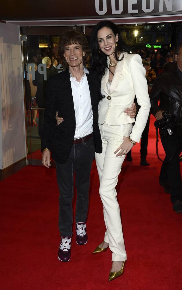 Мик Джаггер и Лорен Скотт, 2012 год