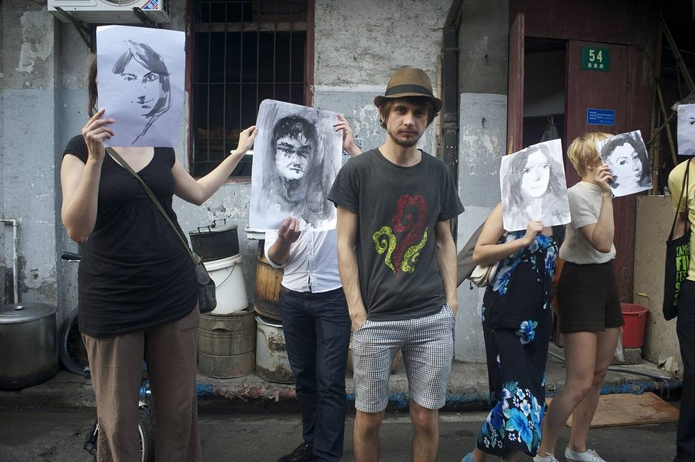 Сергей Баловин на улицах Шанхая