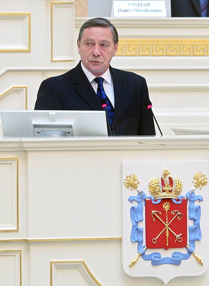 Руководитель администрации Красносельского района Евгений Никольский