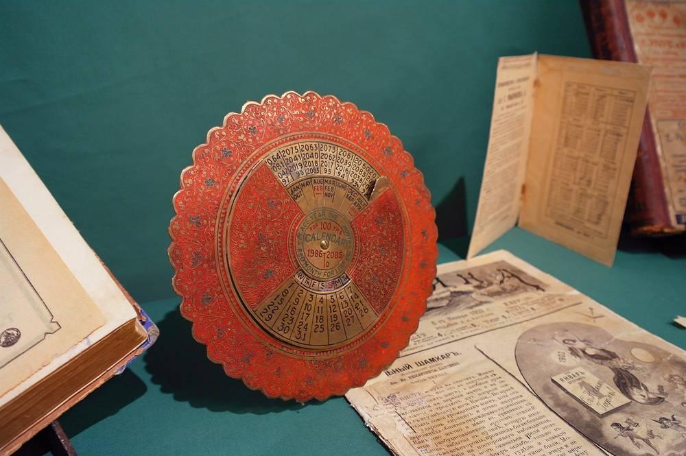 Механический календарь на 100 лет: с 1986 по 2085 годы