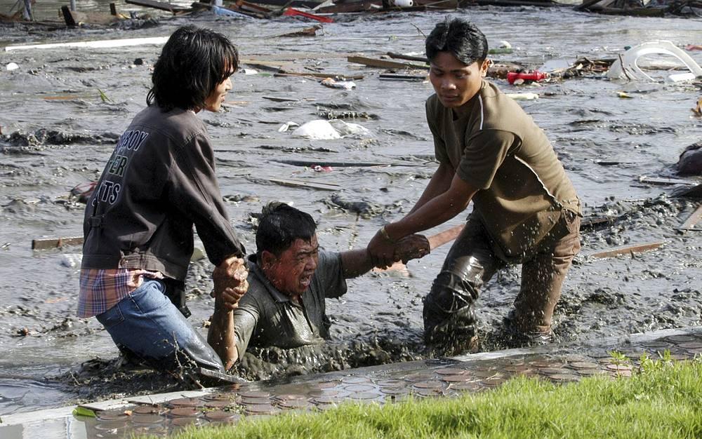 Очаг землетрясения находился на 30-километровой глубине недалеко от провинции Ачех на северо-западе острова Суматра. На фото: провинция Ачех, Индонезия