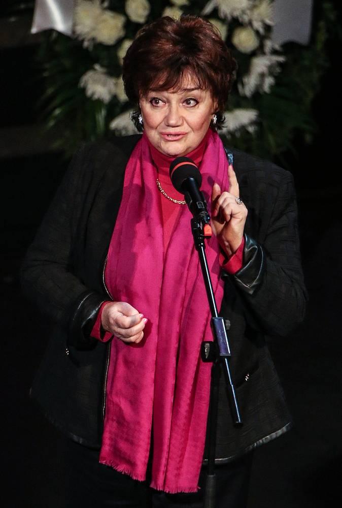 Оперная певица Тамара Синявская