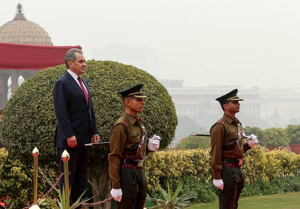 20 января министр обороны РФ Сергей Шойгу по завершении визита в Тегеран прибыл с официальным визитом в Нью-Дели