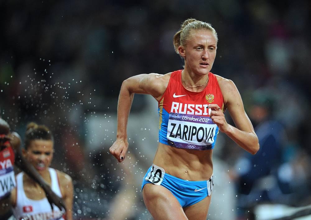 Бегунья на 300 м Юлия Зарипова дисквалифицирована за нарушение антидопинговых правил, выразившееся в использовании запрещенной субстанции и (или) запрещенного метода дисквалифицирована на два года и шесть месяцев с 25 июля 2013 года