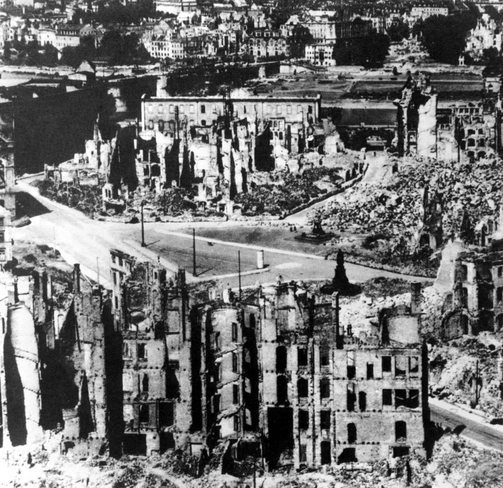 Дрезден, Май 1945 года