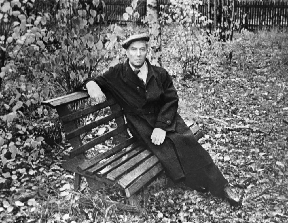 Борис Пастернак в Переделкино, 1958 год