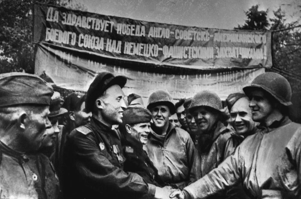 Встречи с американскими войсками прошли на всех участках соприкосновения советских и американских войск: на 1-м Белорусском, на 1-м Украинском и 2-м Белорусском фронтах
