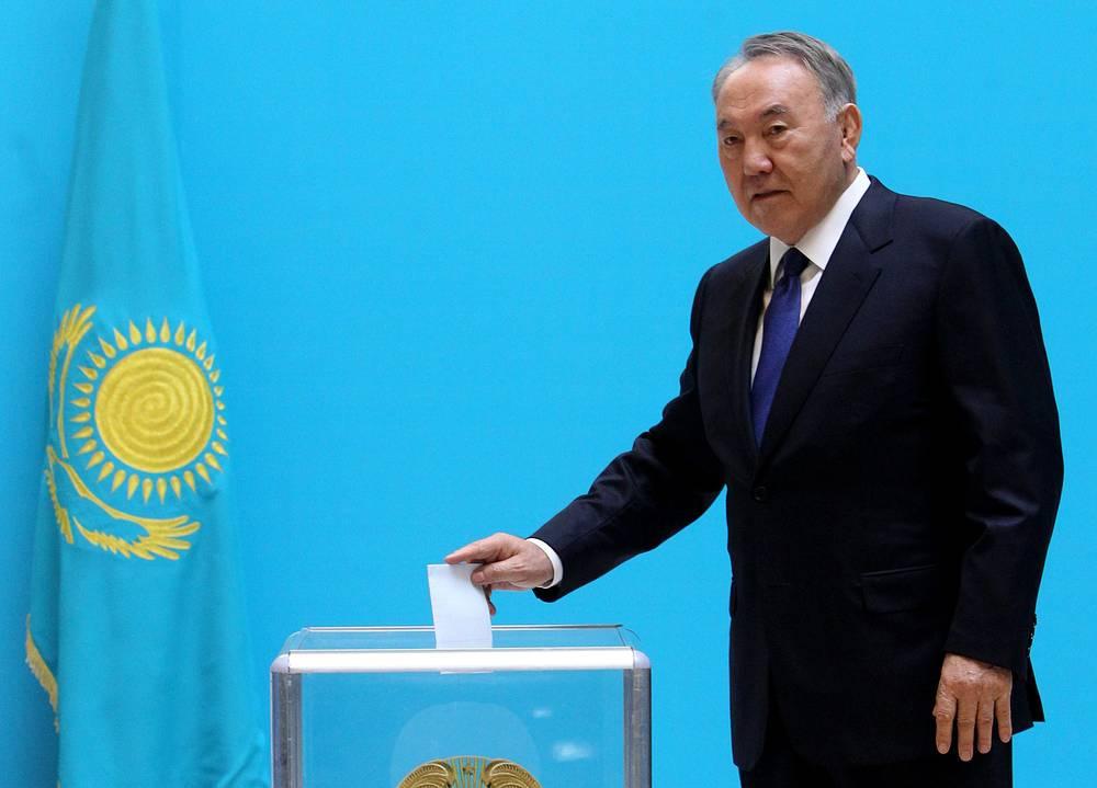 Действующий президент Казахстана Нурсултан Назарбаев