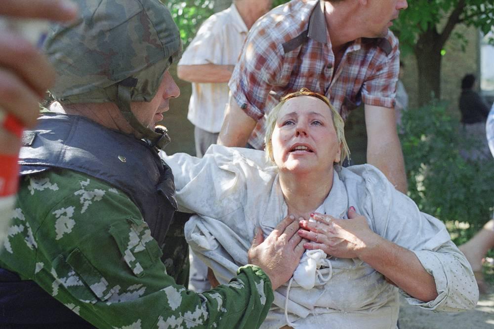 20 июня автобусы достигли аула Зандак на территории Чечни, где участники бандформирования отпустили заложников и скрылись