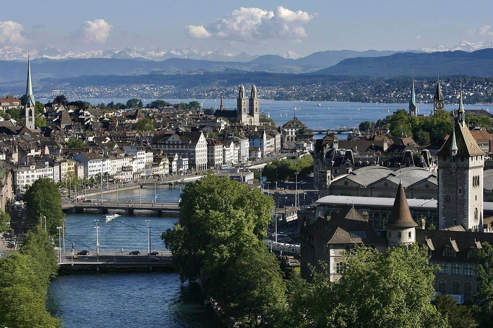 Третье место - Цюрих, Швейцария