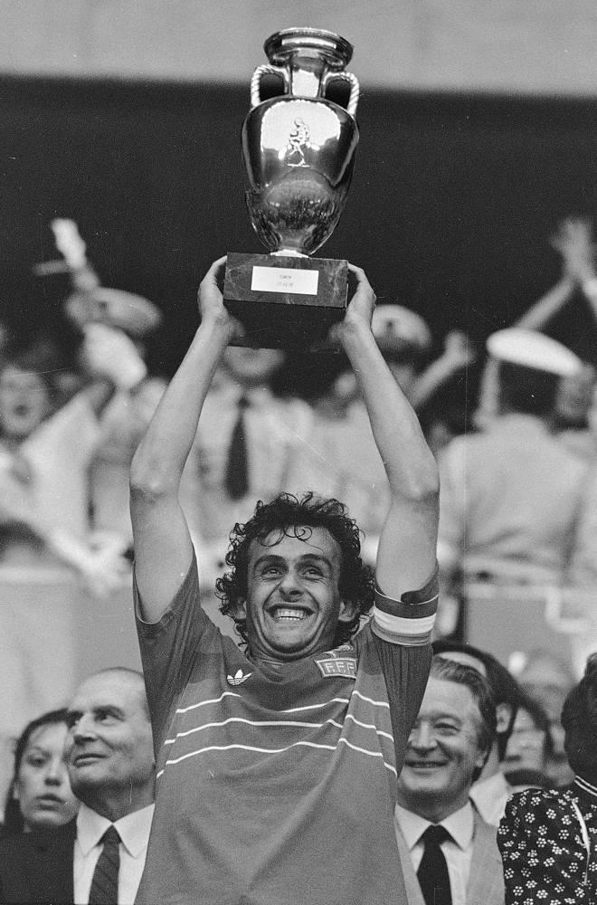 В 1984 году на домашнем чемпионате Европы сборная Франции выиграла титул, а Мишель Платини, забивший 9 мячей в пяти матчах, стал лучшим бомбардиром турнира