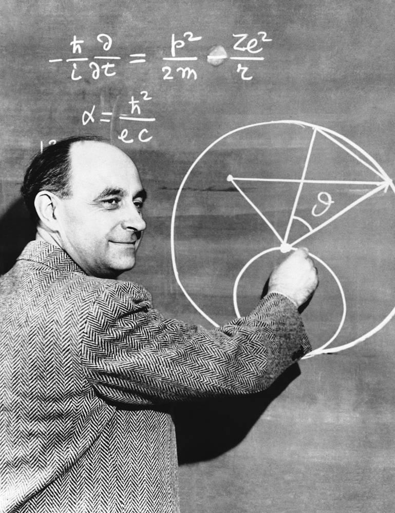 Американский ученый итальянского происхождения Энрико Ферми, создавший первый в мире ядерный реактор